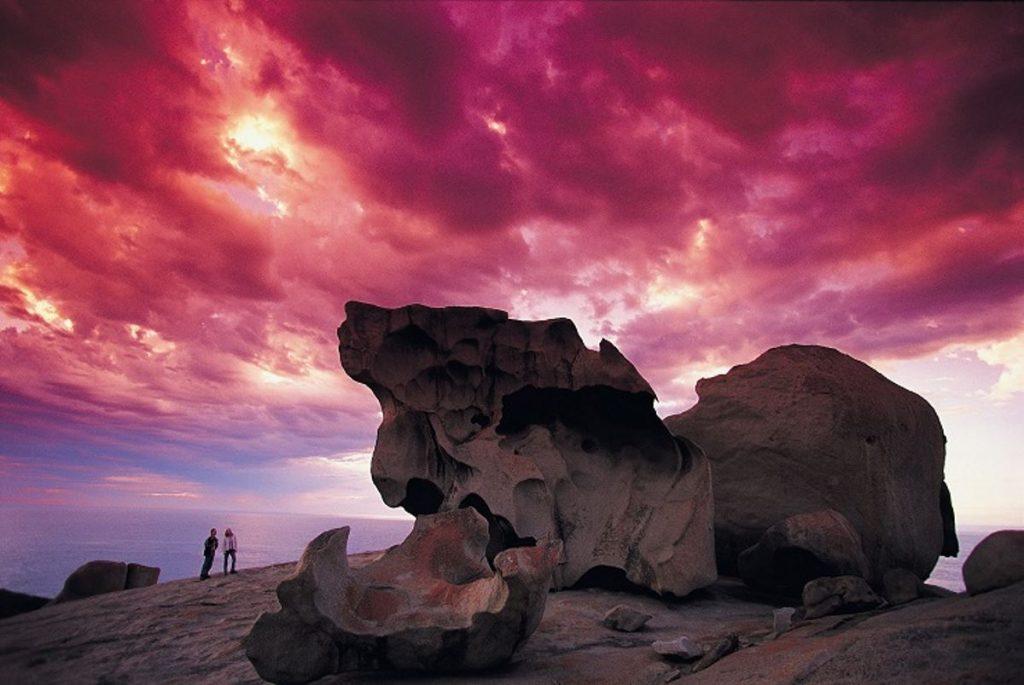 The Remarkable rock formation on Kangaroo Island