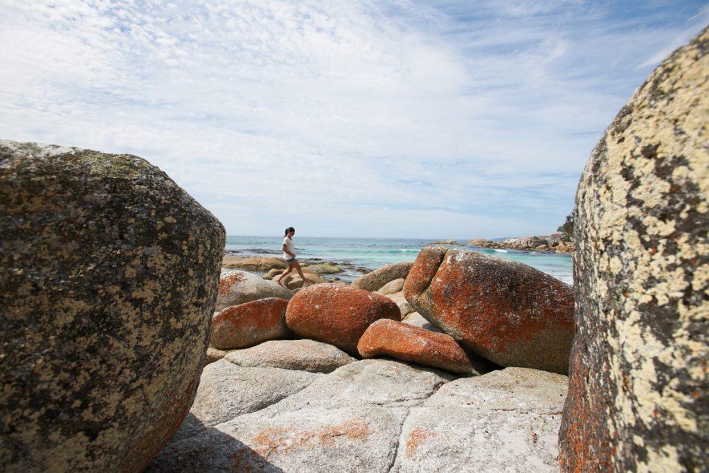 Seaton Cove - Image courtesy Tourism Tasmania and Stuart Crossett