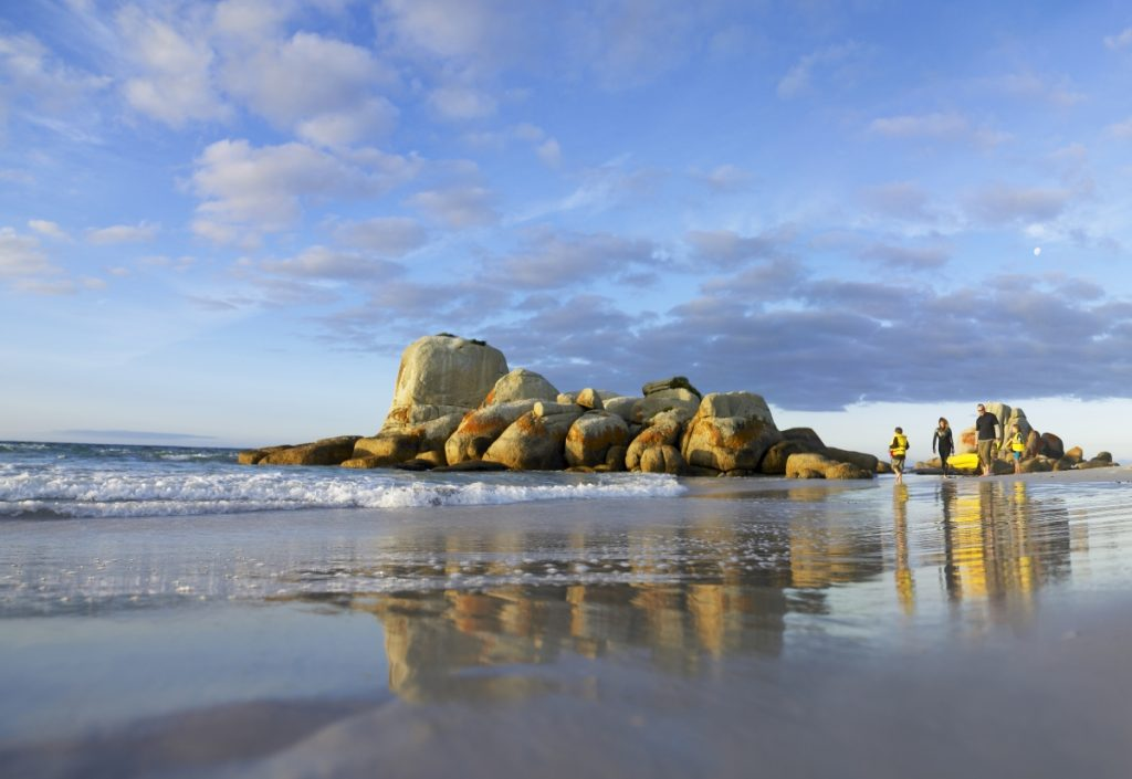 Bay of Fires Conservation Area - image courtesy Tourism Tasmania and Glenn Gibson