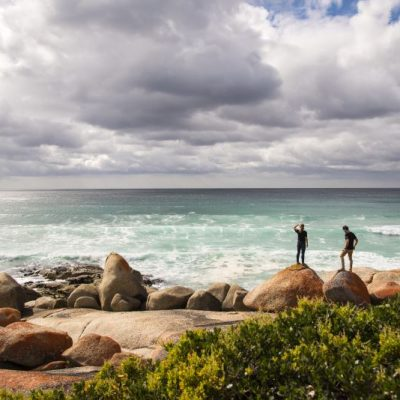 Bay of Fires Hiking - rugged Tasmanian coastline