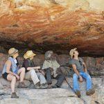 Park Trek Arnhem Land and Kakadu five-day walking tour - Looking at the amazing Aboriginal rock art in Arnhemland