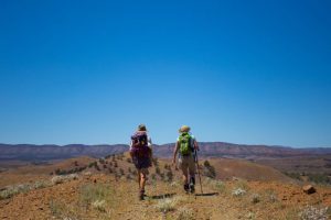 Flinders Ranges Walking Tour with Park Trek - Two hikers enjoying the amazing views