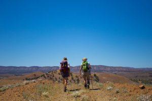 Flinders Ranges Walking Tour with Park Trek - Two hikers enjoying the amazing views