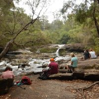Bibbulmun Walking Track - Taking a break by a creek