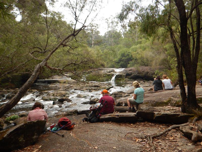 Bibbulmun Walking Track - Taking a break by a creek