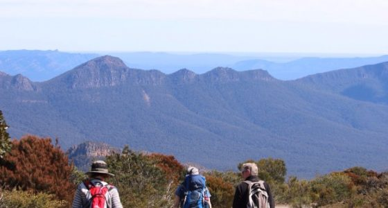 Spectacular vistas in the Grampians