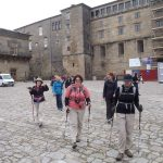 Adventurous Women setting off on their Portuguese Camino Walking Tour