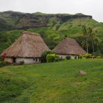 Huts on Fiji