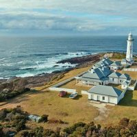 View of Green Cape Lightstation