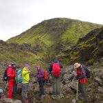 Group of Trekkers in Iceland
