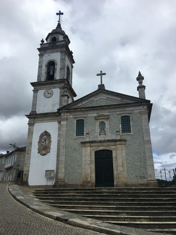 Portugal Duoro Valley Walking Tour - An old church