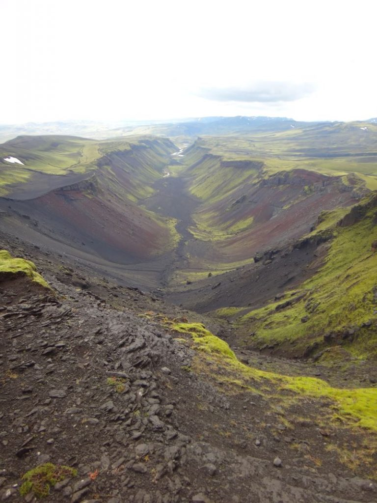 Valley View in Iceland