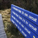 cradle mountain sign