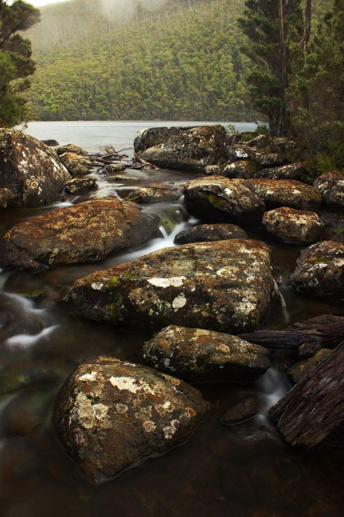 rocky stream and river - South West Wilderness walk