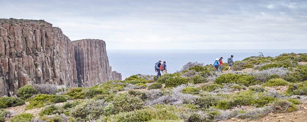 Hiking the spectacular Three Capes in Tasmania