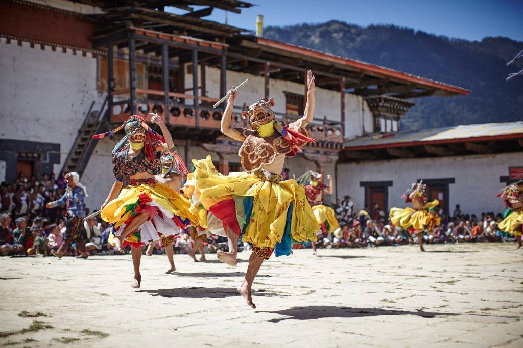 Festival Bhutan walking tour